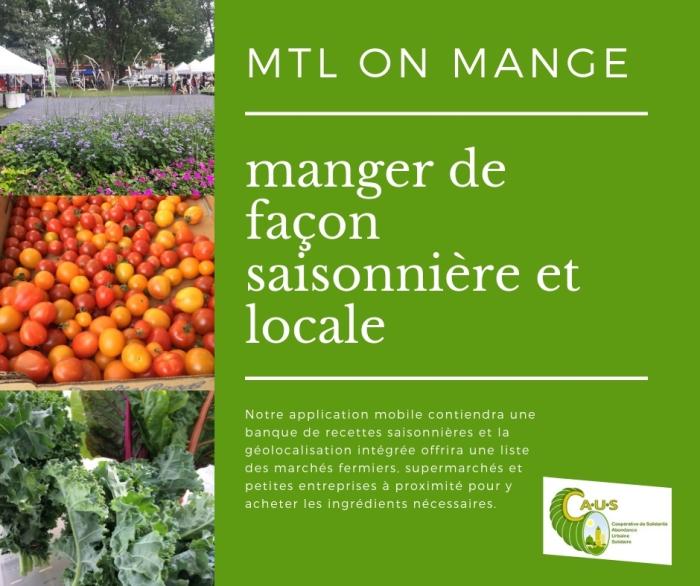 manger de façon saisonnière et locale application mobile